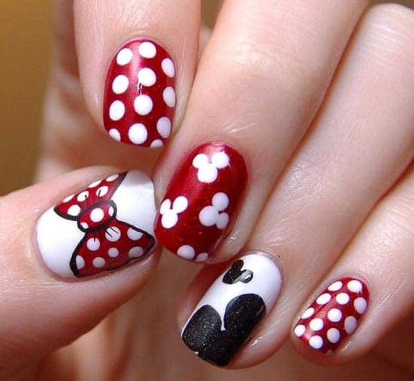 nail art cartoon disney