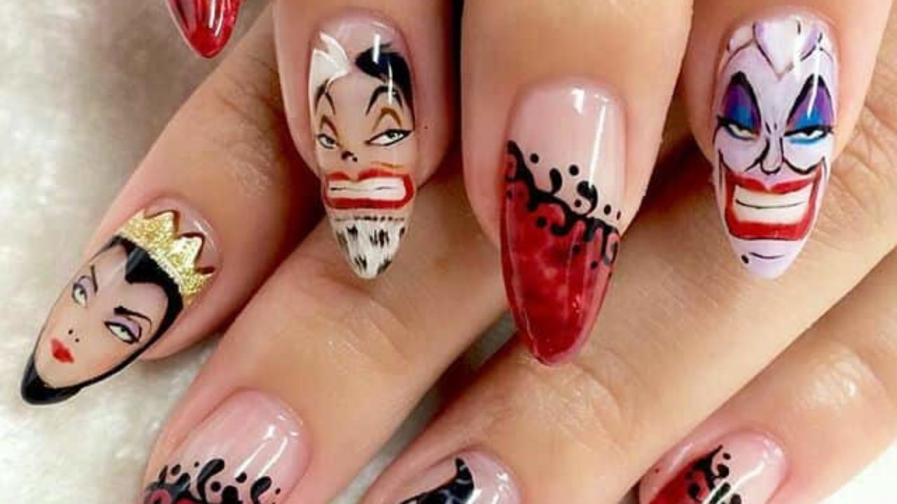 Nail Art Cartoon